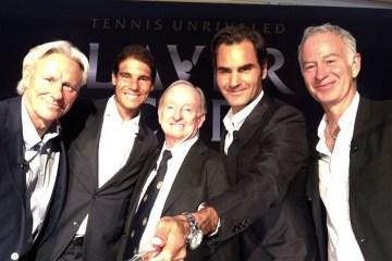 Federer Nadal Laver Borg McEnroe Laver Cup