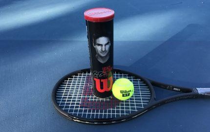 Roger Federer Legacy Tennis Balls