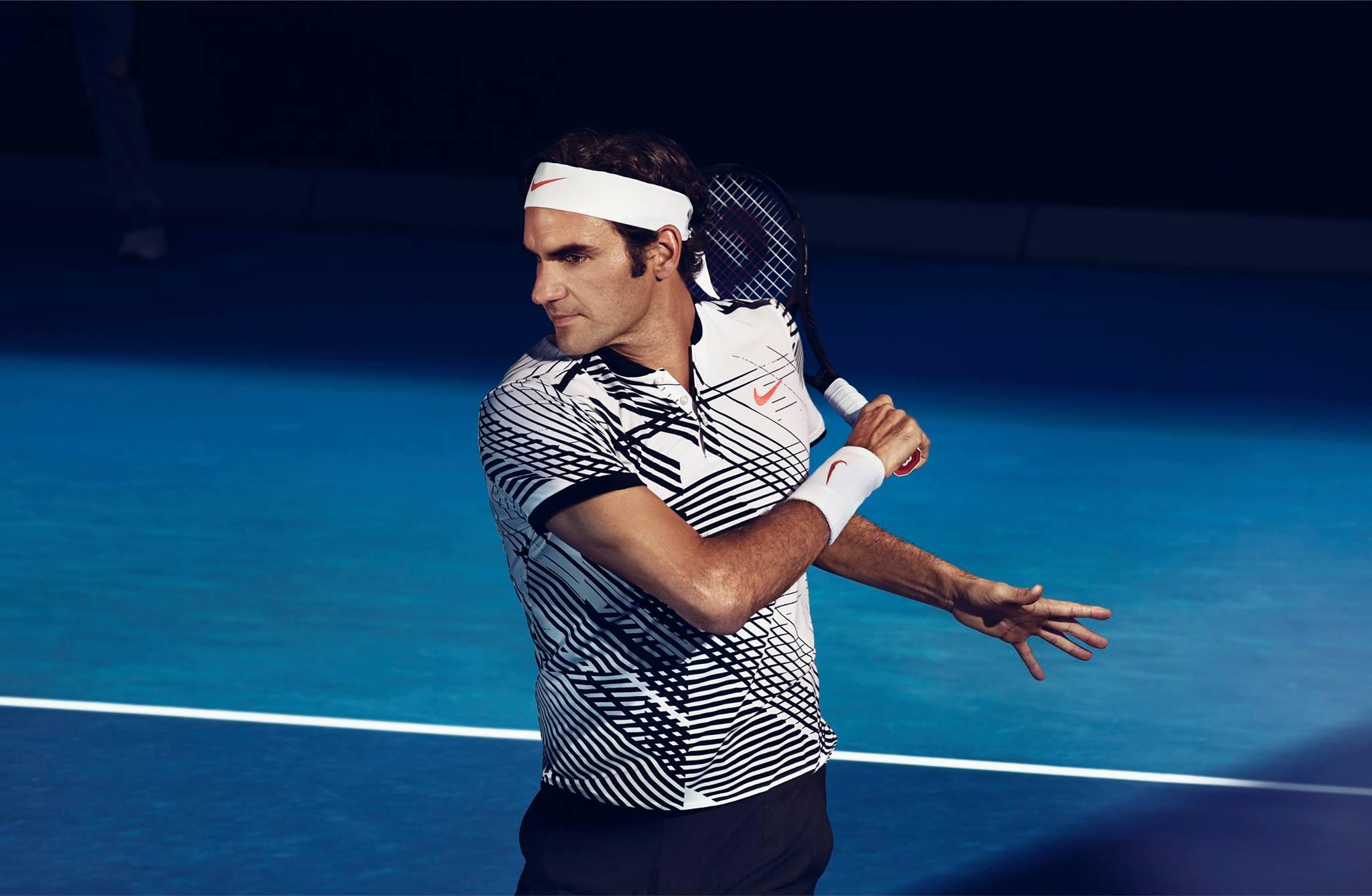 Roger Federer 2017 Australian Open Nike Outfit • FedFan
