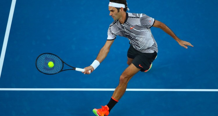 Federer Defeats Nishikori in Five Sets at Australian Open