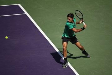 Roger Federer 2017 Miami Open