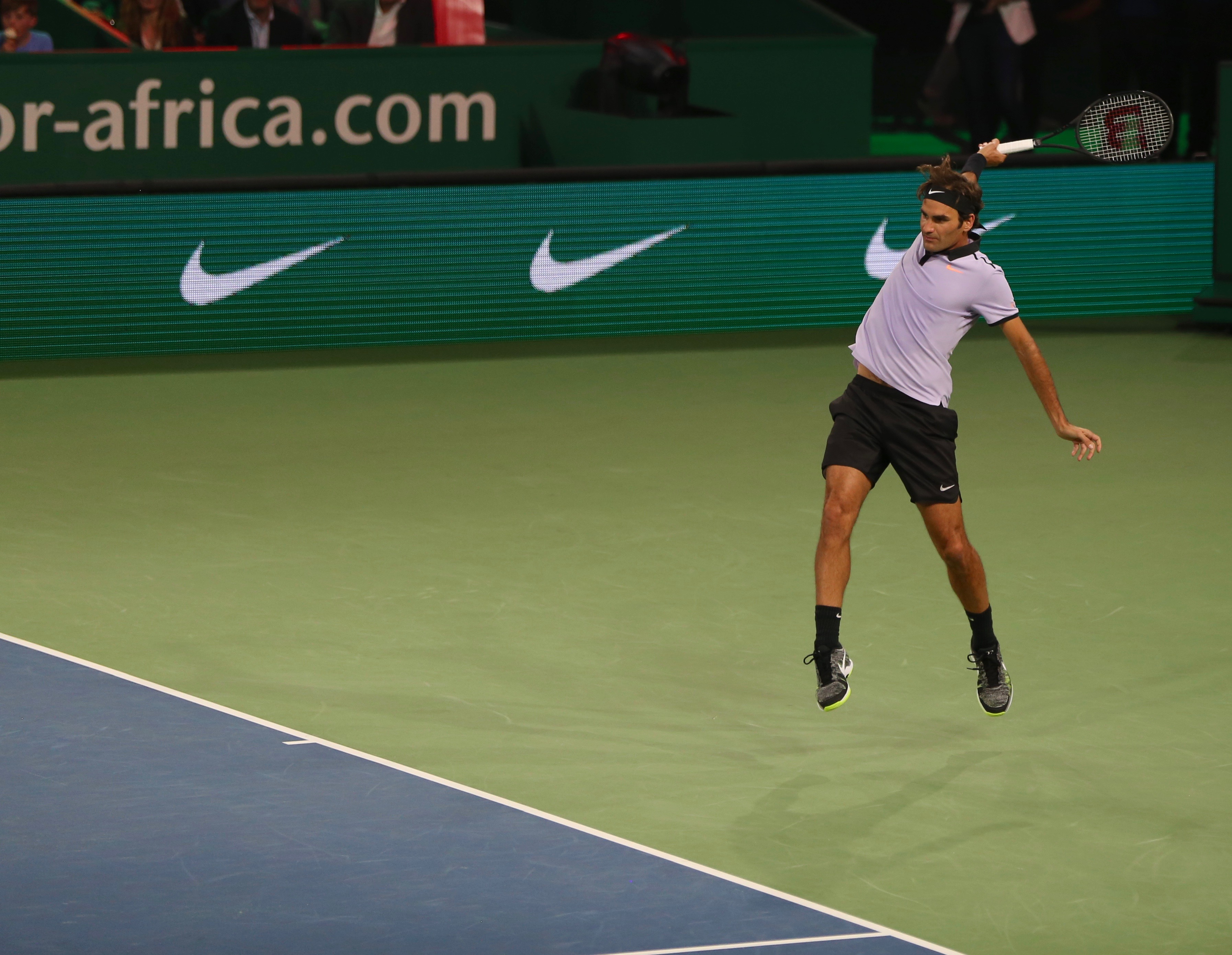 9fa22ef39 Federer Tops Murray in Match For Africa 3 Exhibition • FedFan