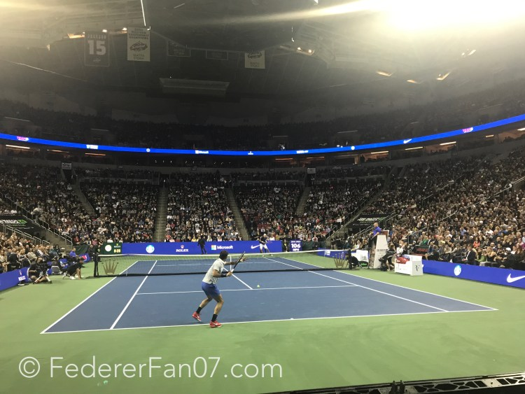 Roger Federer The Match For Africa 4 Seattle