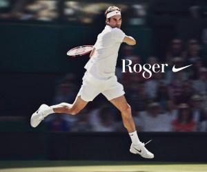 Roger Federer 2017 Wimbledon Nike Celebration