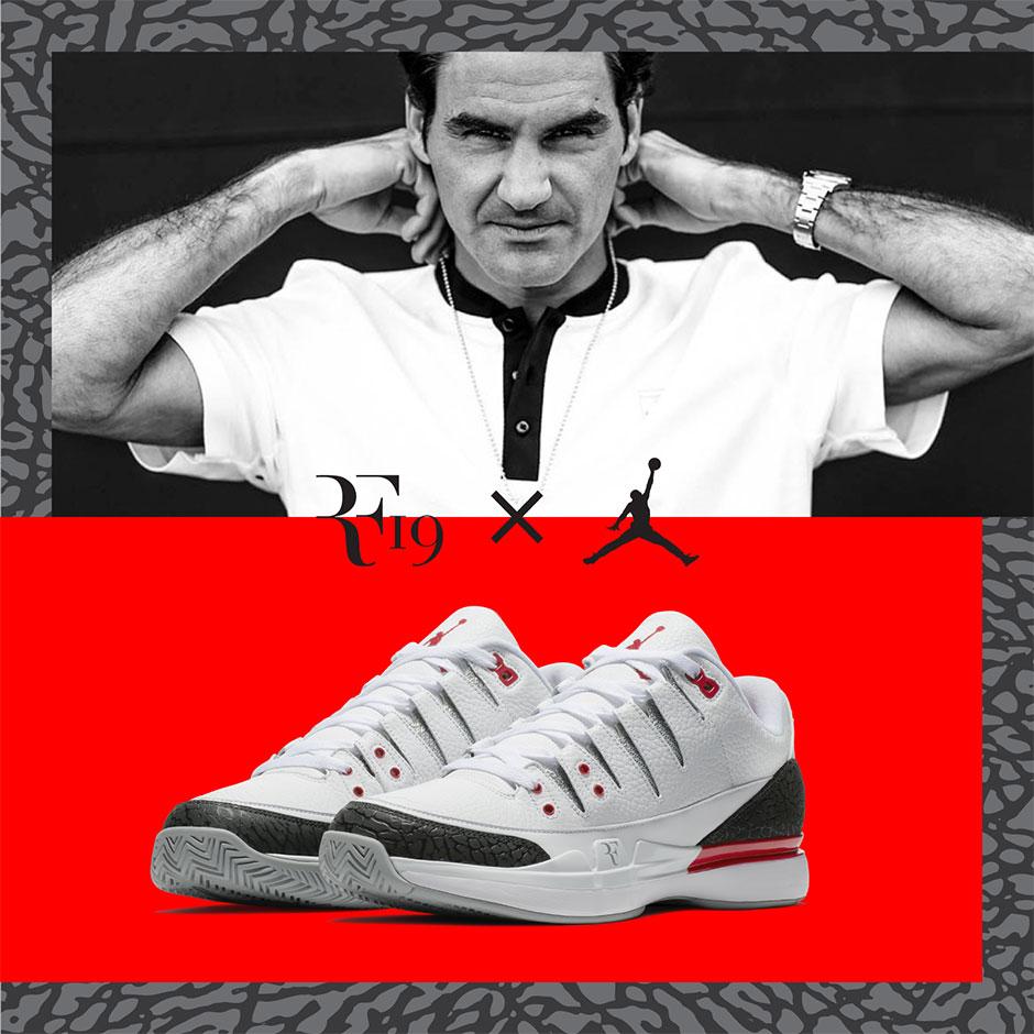 650b3546d8c324 Nike Zoom Vapor Air Jordan 3 Fire Red • FedFan
