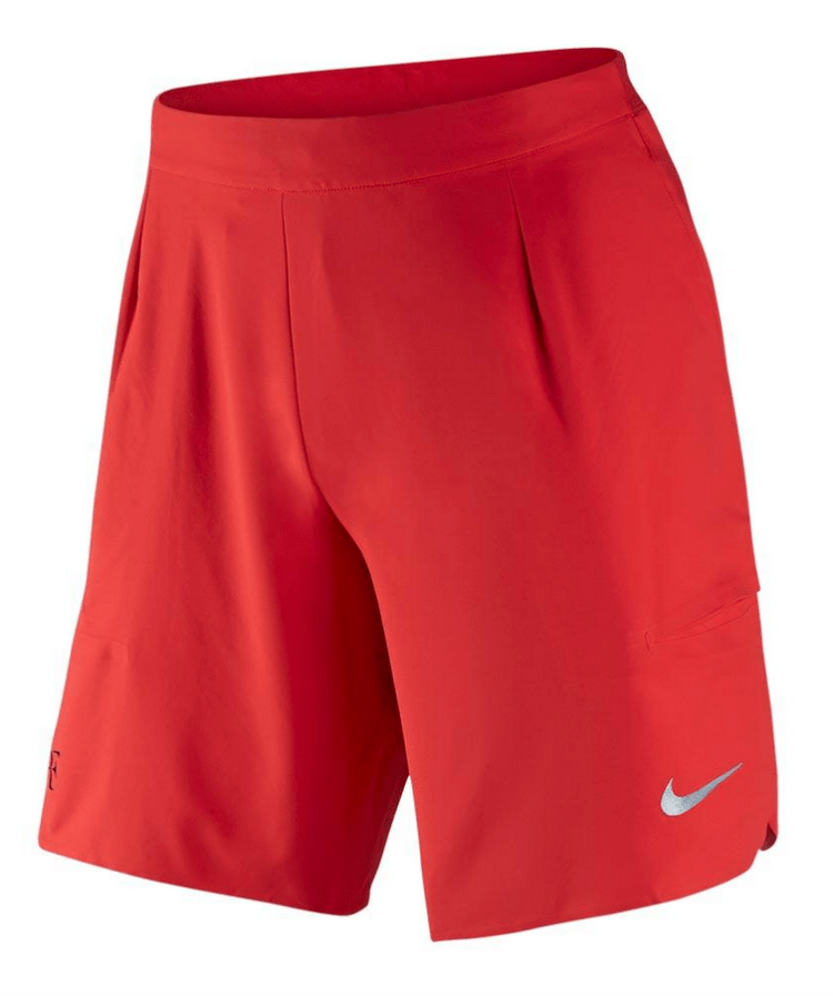 Roger Federer 2017 US Open Nike Outfit - NikeCourt RF US Open Shorts Day Session