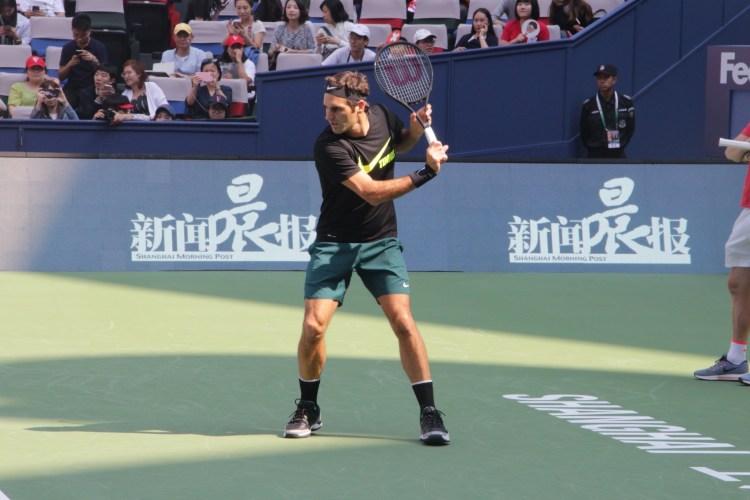 Roger Federer 2017 Shanghai Rolex Masters