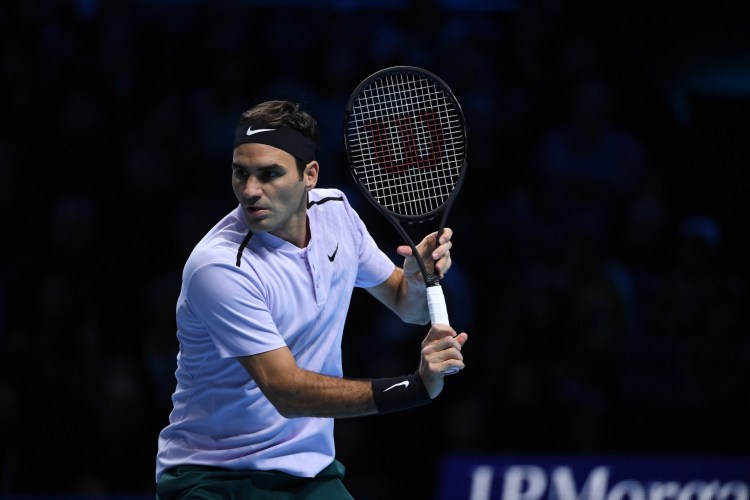 Roger Federer 2017 Nitto ATP Finals - Federer Defeats Cilic to Stay Unbeaten at ATP Finals