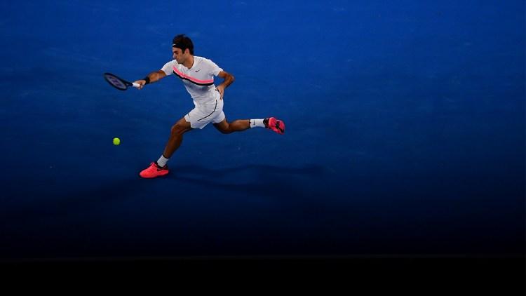 Roger Federer 2018 Australian Open - Federer Moves Past Struff into Australian Open Third Round