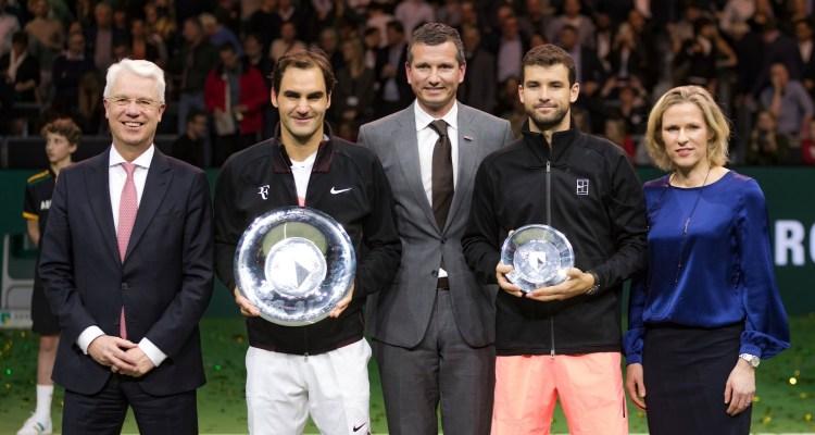 Roger Federer 2018 Rotterdam Open - ABN AMRO World Tennis Tournament