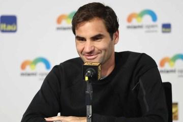 Roger Federer 2018 Miami Open