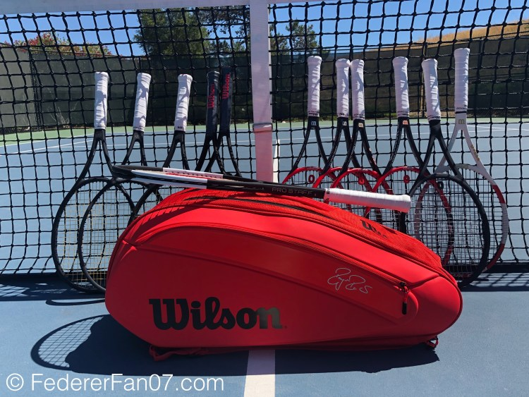 Federer DNA 2018 12 Pack Infrared Tennis Bag