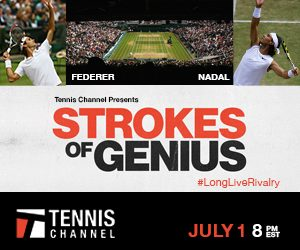 Tennis Channel Strokes of Genius