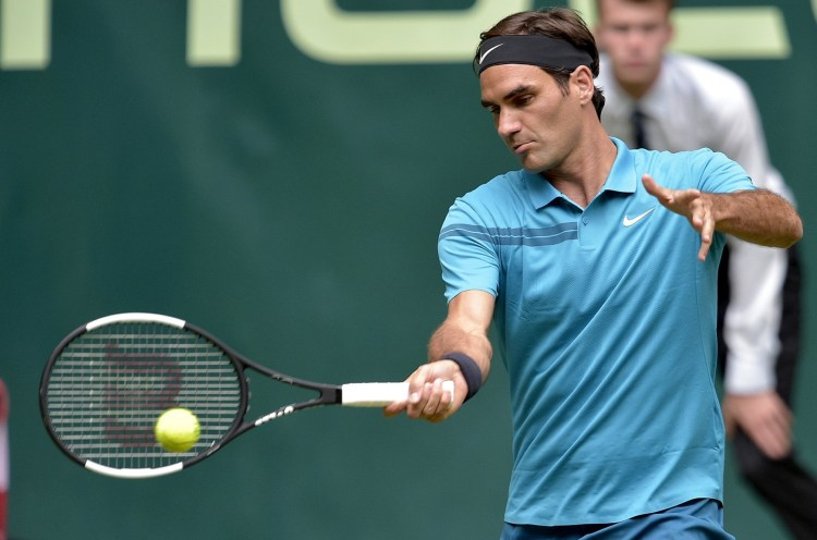 Federer Wins 60th Match in Halle