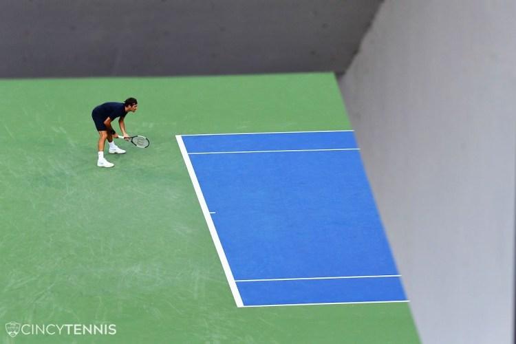 Federer Wins Cincinnati Masters Opener