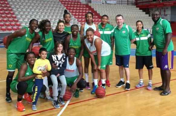 Collaborazione con la Nazionale Basket Femminile Cameroon