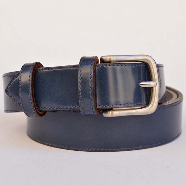 Roma Dress Belt, Slate