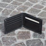 Roma Bifold Wallet Black