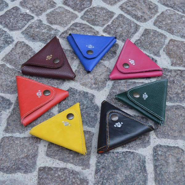 Triangle Change Purses
