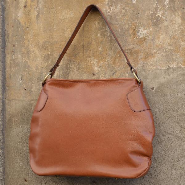 Roma Handbag, Chestnut