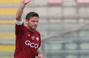 Il Capitano della Reggina Calcio, Ciccio Cozza (foto Internet)