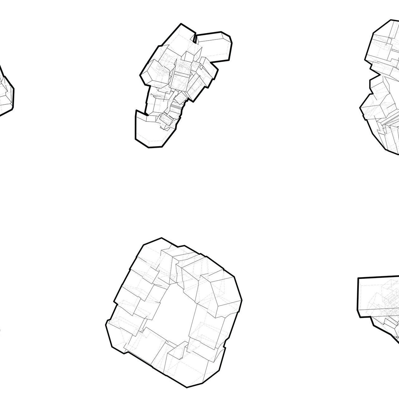 Aggregated Figure: The City as Folded Blocks