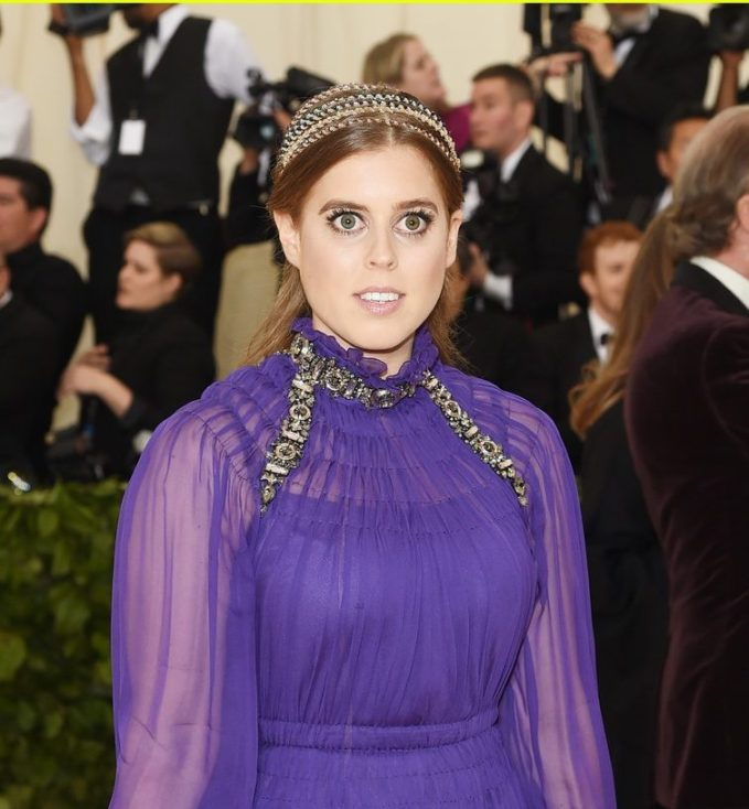 Federico Salon Makes Hair Style For Royal Princess Beatrice At Met