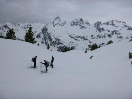 Backcountry skiing Pyrenees