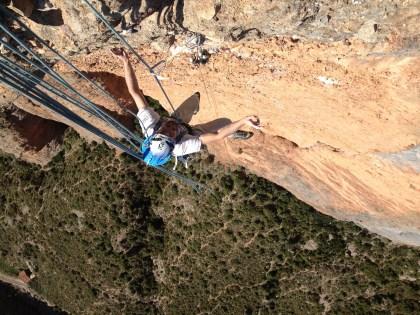climbing in Riglos
