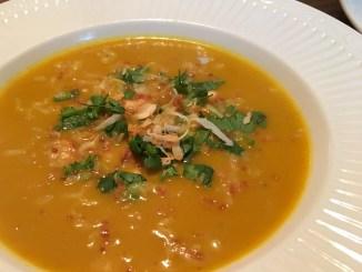 creamy paleo curry squash soup