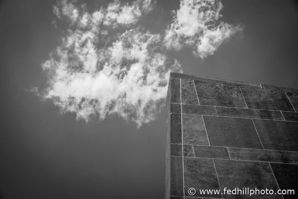 College, Federal Hill Photography LLC, Hall auditorium, Oberlin Hall, SKU-27, United States, abstract, architecture, art, auditorium, black and white, building, cloud, fine art photography, hall, monochrome, nature, ohio, outdoors, sky, stock photography, sun, texture, wall
