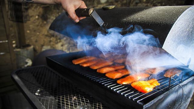 barbecue à pellets