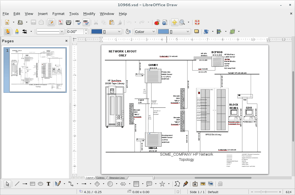 hight resolution of screenshot of libreoffice draw opening up a visio vsd diagram