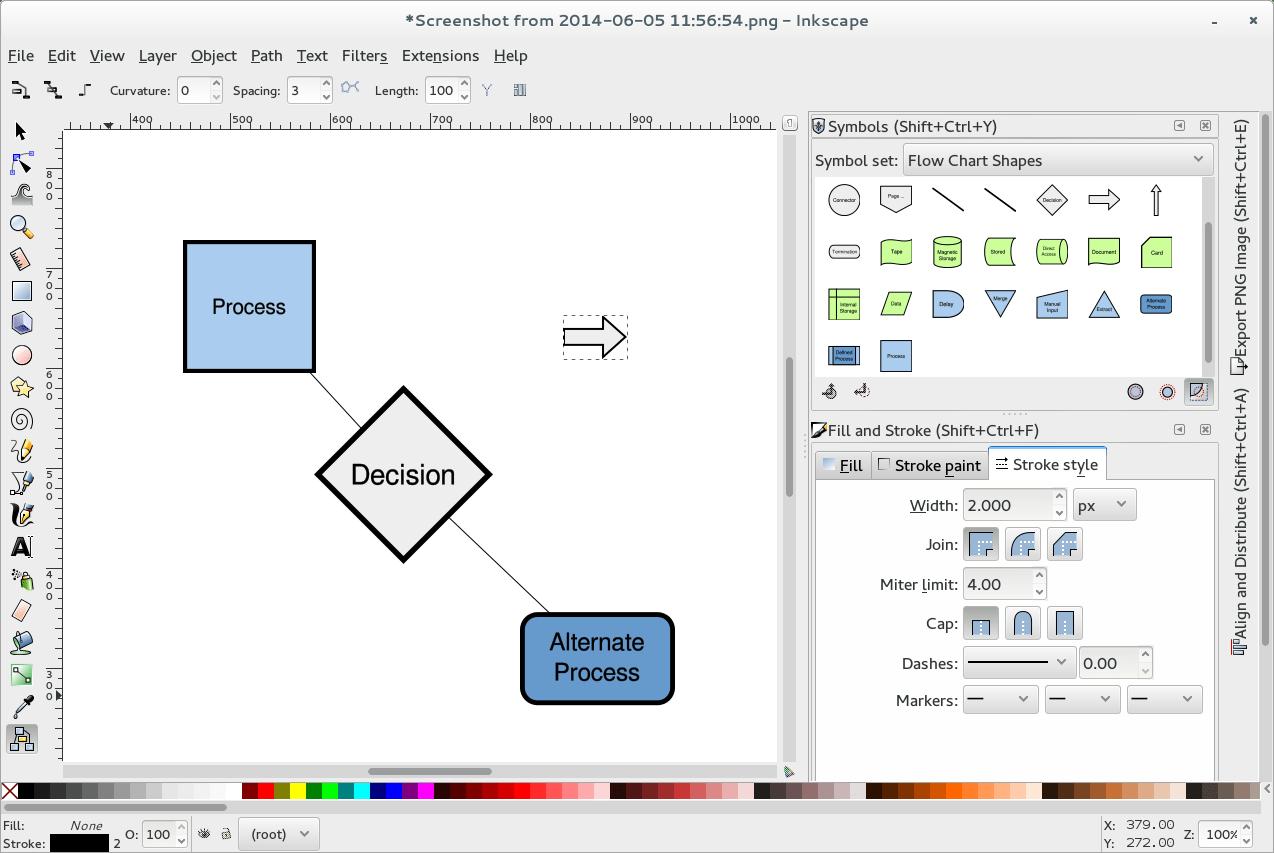 flow diagram tool open source hiniker plow wiring tools for diagramming in fedora magazine