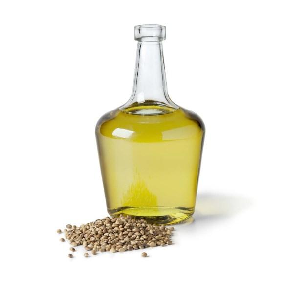 Hampefrø olie