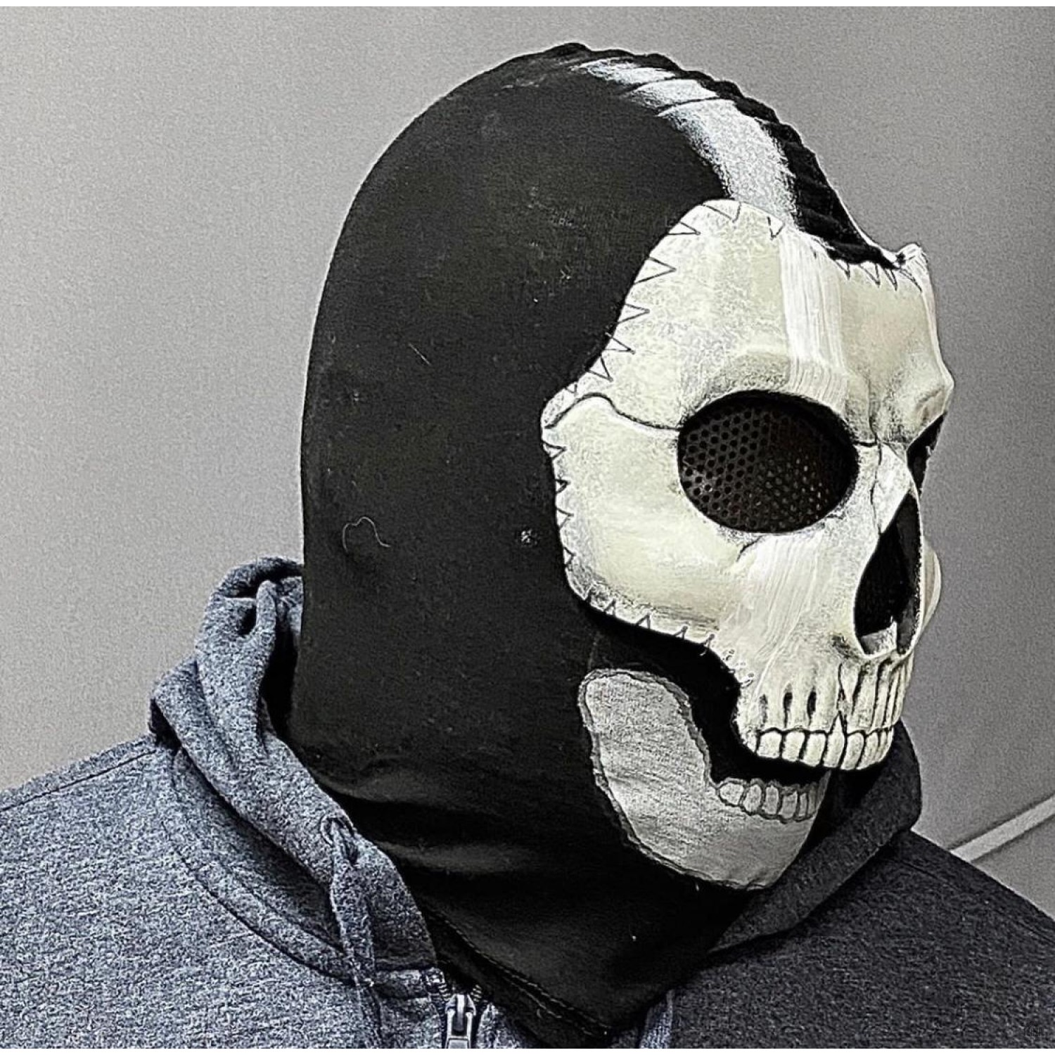 Ghost Mask From The Game Call Of Duty Modern Warfare
