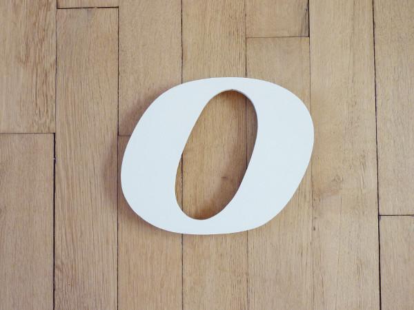 Lettre O minuscule