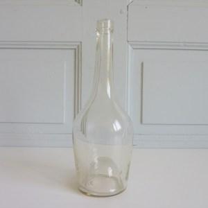 Bouteille ancienne verre soufflé