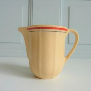 Pot à lait ancien Faïencerie KG Luneville
