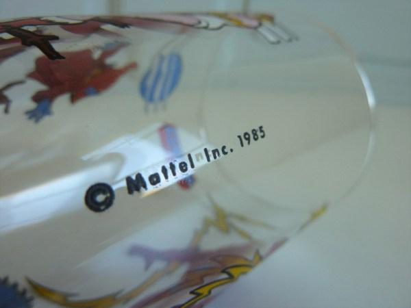 Verre à moutarde Maitres de l'univers Mattel 1985 (Le monstre, Orko et Tila)