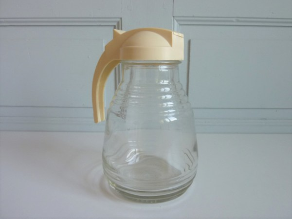 Carafe YEL vintage couvercle coulissant