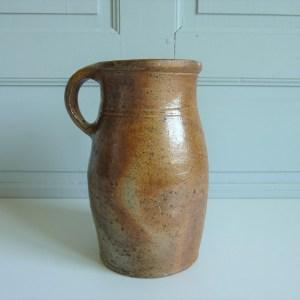 Pot à lait ancien en gres