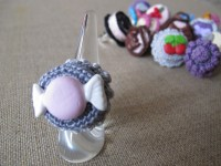 Crochet candy ring
