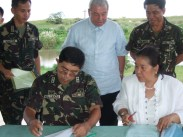 FEED Inc & AFP, Camp O'Donnell MoU