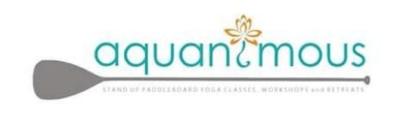 aquanimous yoga logo