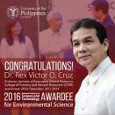 2016 - Prof. Dr. Rex V. Cruz, Order of the National Scientist