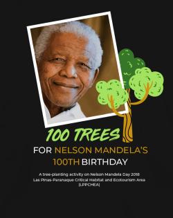 100 Trees for Nelson Mandela's 100th (25 July 2018)