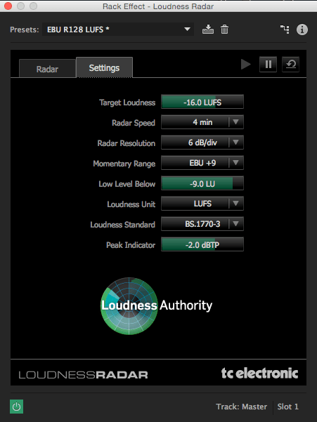 loudness meter 2