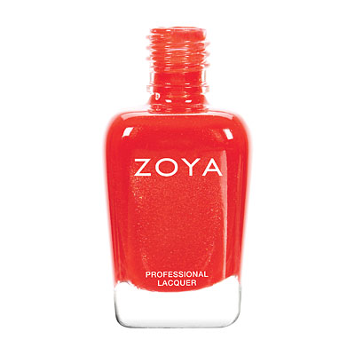 A bottle of ZOYA Aphrodite.