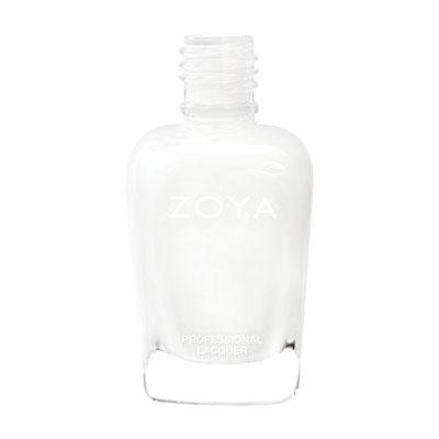 A bottle of ZOYA purity.